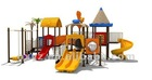 professional high quality playground slides P-075