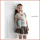 Kids Cute 100% Cotton Short Skirt with printng