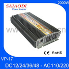 Good sale 2kw Inverter 12V/24V 110V/220V VP17
