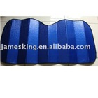 Car sun shade 130*60cm/Multi color bubble