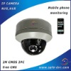 Vandalproof dome ip camera