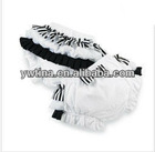 2012 Hot sale !!! TOP QUALITY Baby Ruffled Bloomer baby satin diaper covers bloomers christmas zebra