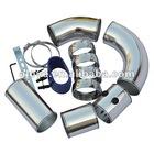 Universal cold air aluminum intake pipe 3''