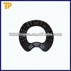 Molded Silicone Rubber Gasket With Mesh