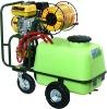 Trolley power sprayer (100L) with honda engine