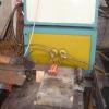 Leaf spring machining