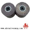 nylon abrasive flap brush