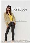 2012 ladies' fashion A-shape cotton slim solid pants