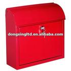 Iron outdoor mailbox