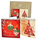 Promotion Christmas paper cards