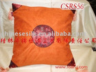 Asia style home inside velvet cushion cover