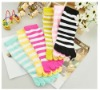 cheap colorful knee five toe socks