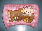 lovely bear pink cushion back neck body