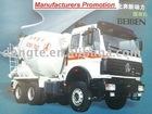 North Benz concrete mixer truck /6*4/3450+1450/2534B 9~12m3