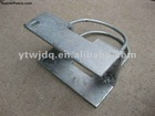 Metal fence post bracket .fence mounting bracket
