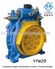 YTW20 Permanent Magnet Synchronous Gearless Elevator Traction Machine
