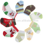 Baby cute non-skid socks for christmas gift