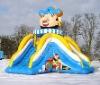 Cartoon Model Inflatable Slide