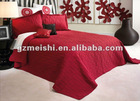 4pcs printed cotton bed spread set