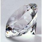 desk accessories crystal diamond paperweight