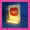 LED acrylic bottle glorifier