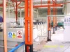 spraying pretreatment system of powder coating line