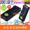 Free shipping MK802 Mini PC,Mini Android4.0 dongle, android IPTV,google tv,smart android box,allwinner A10, 1GB DDR3,Flash 10.3