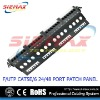 45 degree angled patch panel