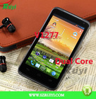 2012 New Cell Phone Android 4.0 Dual Core MTK6577 RAM 512MB ROM 4GB V1277