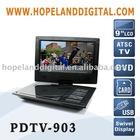 9 Inch DVD ATSC TV