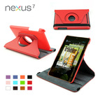 360 Rotate Stand Leather Case for Google Nexus 7
