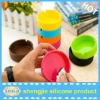 colorful heat resistant silicone portable ashtray