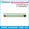 humanity 16E1 PDH with optical 1+1 fiber multiplexer