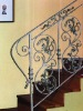 wrought iron staircase /Interior design stair