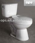 EPA Water Sense Labeled High Efficiency Toilet, IAPMO/UPC Certified, ADA Toilet (T/X-6688H)