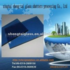 5mm blue float glass