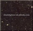 Indian Black Galaxy-polished tile