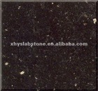 Indian Black Galaxy-polished tile