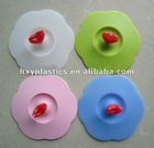 custom various silicone cup lid for gifts