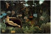 Reproduction oil painting of Rousseau,The Dream