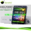 Chinese Dual SIM Mobile Phone HD2000 with Android System bluetooth Wifi