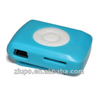 2012 fashion stone mp3 player support memory card
