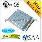 220V/230V/120V/120-277V HID Metal halide lamp electronic ballast 20W/35W/39W/70W/150W CE/ROHS/PSE/VDE/TUV/SAA/CB/UL/FCC approved