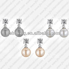 Canada Groupon Freshwater Pearl Fashion Earrings With Crystal