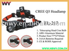 Cree Q3 LED Headlamp FL-217