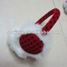 1367008 Winter Stuff Plaid Ear Muffs Earmuff