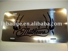 Metal Car Number Plate, Car license plate, Metal Plate