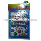 2012 colorful plastic gift bag