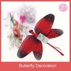 Offering 2012 best popular home decoration silk dragonfly