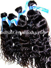 natural curl human hair bulk, Indian remy human hair